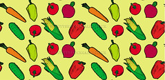 vegetables vector seamless pattern yellow (Gal'ko) Tags: wallpaper food plant green texture nature kitchen illustration garden tomato menu recipe pepper design salad vegan spring healthy corn colorful pattern natural farm background cartoon bio vegetable fresh health fabric vegetarian carrot backdrop organic diet chilli agriculture product radish eco vector seamless ripe handdrawn chilipepper ingredient vitamin springonion preparefood