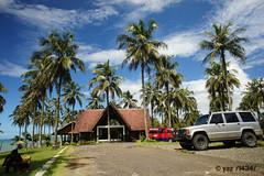 amanda ratu hotel (Yans Z) Tags: panorama coast java tanahlot ujunggenteng amandaratu
