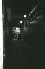Street Scene - Busan (Shoji Kawabata. a.k.a. strange_ojisan) Tags: street city nightphotography bw white black film night analog 35mm asia cityscape cityscapes delta s scene korea busan fujifilm nightphoto 3200 ilford analogphotography bnw klasse eastasia analogphoto filmphotography filmphoto