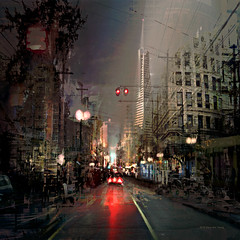 3-2-1 Liftoff (Stacy Ann Young) Tags: sanfrancisco cityscape digitalart dreamscape luciddream