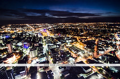 Auckland at night - New Zealand (Naomi Rahim (thanks for 2 million hits)) Tags: city longexposure travel sunset newzealand sky skyline night clouds lights nikon wanderlust auckland busy nz northisland lighttrails 2016 travelphotography 1116mm nikond7000