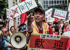 Voice of Loving Hong Kong (Aaron Anfinson) Tags: china hongkong protest photojournalism reportage djzhang