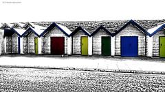 Beach Huts (SteveJ442) Tags: color colour beach colours artistic creative huts dorset swanage beachhuts