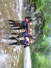 P1120443 (Mountain Sports Alpinschule) Tags: blue mountain sports lagoon canyoning zillertal zemmschlucht alpinschule