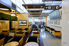 Lounge seats (A. Wee) Tags: airport lounge lot poland warsaw chopin businessclass   lotpolish