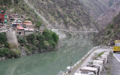 River Iravati at Khadamukh (Rupak Sarkar and Uma Sarkar) Tags: ravi himachal himalayas bharmour iravati