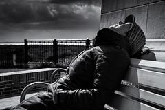 Weather (Nordsprotte) Tags: sunset sun white holiday black beach nature strand germany island natur relaxing insel silence frau langeoog ferien friesland dne kste wattenmeer norddeutschland niedersachsen inseln ostfriesische