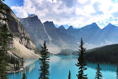 Moraine Lake Canadalast summer (anettfoldesi) Tags: morainelake canada