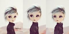 Caim - Taeyang Custom (Yuffie Kisaragi) Tags: doll horizon custom akai obitsu caim taeyang rewigged rechipped