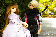 Crnica 15 (1/2) (Osmundo Gois) Tags: victorique frederik jid kyle alina dolllove bjd msd doll toy