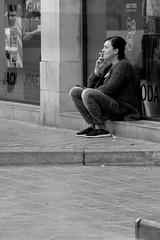 break (Dirk Tucholski) Tags: break smoking ostende
