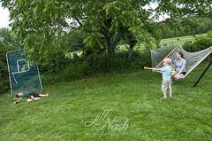 Seamus shot Cato! (grilljam) Tags: summer seamus hammock helena cato 4yrs june2016 swangofarm