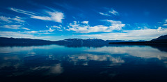 Tahoe Reflection (tryggphoto) Tags: california blue lake mountains tahoe sierra alpine