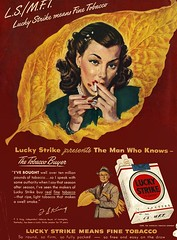 1948 Lucky Strike Ad