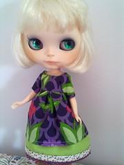 Aretha y su vestido flor