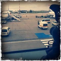 Berlin, kurz vor dem Abflug