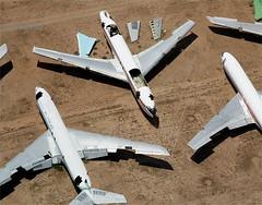 Aero Filipinas         Boeing 707            RP-C1886 (Flame1958) Tags: 2005 desert boeing dm boneyard boeing707 b707 davismonthan 0705 kc135 davismonthanafb 170705 aircraftstorage desertstorage b707351c aerofilipinas rpc1886