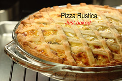 Tuesdays with Dorie (TWD): Baking with Julia: Pizza Rustica (Baking is my Zen) Tags: prosciutto andrewtodd easterpie ricottacheese pizzarustica savorypie doriegreenspan nickmalgieri carmenortiz canonrebelt1i bakingismyzen bakingtip twdtuesdayswithdoriebakingwithjulia calibratingoven geprofileoven howtocalibrateoven ehowcontributor