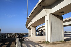 I-110 and the Boardwalk Loop (gravescout) Tags: mississippi biloxi interchange highway90 i110 interstate110