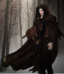 Travellers cloak (Dani @ Birdy/Foxes/Alchemy) Tags: sl secondlife cloak rp roleplay tof theoldforge secondlifefashion