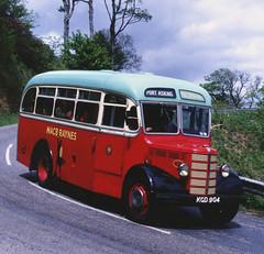 Preserved MacBraynes bus at Port Askaig in June 1996 (Eoin Ileach) Tags: buses islay macbrayne macbraynes