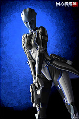 Dr. Liara T'Soni (Kotobukiya Bishoujo statue) (dscans) Tags: collectible kotobukiya asari bishoujo bfigure jfigure shunyayamashita masseffect3