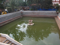 Shantadurga Temple (Terry Hassan) Tags: india pool temple goa bathing hindu watertank tirtha quela kavale ponda shrishantadurga devuls