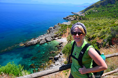"Juliet in Hike Mode -  Lo Zingaro, Sicily • <a style=""font-size:0.8em;"" href=""http://www.flickr.com/photos/40100768@N02/7176822067/"" target=""_blank"">View on Flickr</a>"
