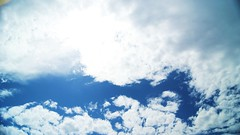 Clouds (NockOffProductions) Tags: blue sky cloud sun day bright condesation
