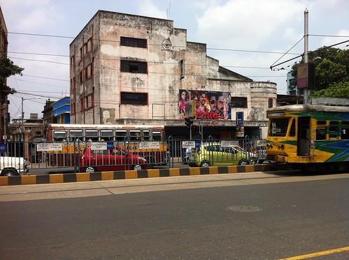 Old cinema hall
