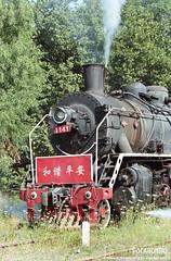 2012/6/13 SY1141 Yuxia (Pocahontas®) Tags: railroad film train kodak engine railway steam locomotive ultramax 135film