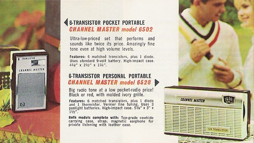 CHANNEL MASTER Radio, Television, Tape Recorder, Walkie Talkie and Interphone Brochure (USA 1961)_06