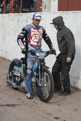 Ashley Birks (Richard Amor Allan) Tags: bike mud bikes crew cycle stokeontrent rider speedway cycles riders pitlane motorcyles scunthorpesaints stokepotters loomerroad stokeeasyriderpotters ashleybirks
