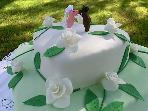Hochzeitstorte Mit Schweinchenbrautpaar A Photo On Flickriver