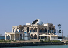 The Old Palace Of Haile Selassie In Massawa, Eritrea (Eric Lafforgue) Tags: africa sea color colour building abandoned horizontal architecture outdoors photography ruins war day redsea ruin nobody nopeople mosque oldhouse dome copyspace bomb decline bombed oldfashioned massawa eritrea hornofafrica coastaltown eastafrica haileselassie batsi ottomanempire buildingexterior colorpicture italiancolony massaua massaoua ertra colourpicture africaorientaleitaliana ottomanturks mitsiwa italiancolonialempire a0005746