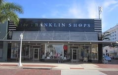 The Franklin Shops, Fort Myers (stoneofzanzibar) Tags: florida artdeco ftmyers 1937 fortmyers transoms vitrolite transomwindows franklinshops franklinhardware