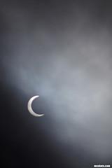 Eclipse6:40PM (mcshots) Tags: california usa sun moon sol fog clouds eclipse losangeles afternoon stock luna socal mcshots lunar elsegundo 2012 solareclipse
