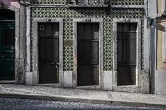 Madragoa, Lisbon, Portugal. (Marie-Laure Even) Tags: voyage street city travel portugal spring europe pavement lisboa lisbon may mai rue portuguese printemps ville 2012 trottoir lisbonne portugais madragoa ajuleros marielaureeven