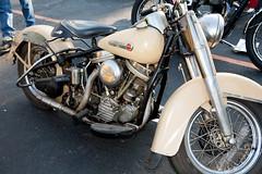 Vintage Cream Harley-Davidson (HouseofHarley) Tags: vintage harleydavidson milwaukee motorcycle