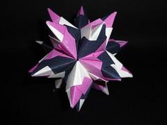 Origami Bascetta Star - (Paolo Bascetta) (Vanessa Nunes (Axen)) Tags: star origami paolo unit bascetta axensworkshops