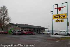Ox-Bow Cafe in Bliss, Idaho (Dornoff Photography) Tags: nikon idaho smalltown d60 ushighway26 nikond60 oxbowcafe ushighway30