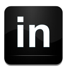 LinkedIn social media icon