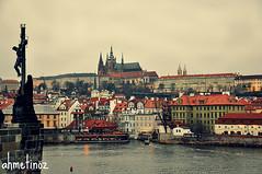 The Day of Prague (ahmetinoz) Tags: old bridge sea castle canon day republic czech prague prag kafka