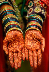 Glenn and Shermeen get married (pjarrettphoto) Tags: wedding pakistan party usa color hands colorful traditional maryland palm pakistani bracelets tradition henna silverspring mehndi