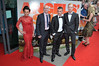 Jasmin Riggins, Gary Maitland, Paul Brannigan and William Ruane UK premiere of 'The Angel's Share' at Cineworld Glasgow Glasgow, Scotland