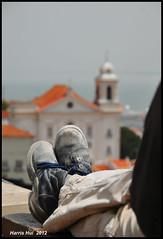 Enjoying The Scene Or Taking The Picture? - Miradouro de Santa Luzia Lisbon N9672e (Harris Hui (in search of light)) Tags: travel vacation canada portugal vancouver relax nikon shoes europe dof bc bokeh lisboa lisbon details relaxing lookout dirty richmond miradouro dirtyshoes clever d300 travelphotography vacationtravel viewingpoint whatyouseeisnotwhatyouget nikon18200mmvr nikonuser miradourodesantaluzia nikond300 thesearenotmyshoes photographicvision dirtyshot harrishui vancouverdslrshooter enjoyingthescene ortakingthepictures travellersshoesgottobedirty