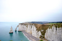 (hannah ) Tags: ocean france nature water landscape cliffs tretat