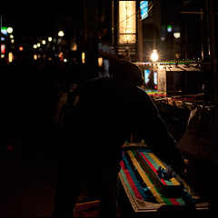(MT...) Tags: light silhouette festival japan night square stall  matsuri japanesefestival        nakedbulb