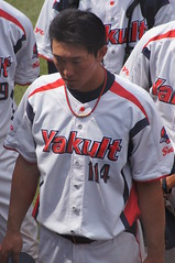 DSC04402 (shi.k) Tags: 横浜スタジアム 東京ヤクルトスワローズ 120608 イースタンリーグ 麻生知史