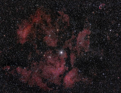 Gamma Cygni Nebula in Cygnus 13 June 2012 (BudgetAstro) Tags: nikond70 nebula astrophotography astronomy dss cygnus 55200mmf456g m29 ngc6888 ic1318 ngc6913 crescentnebula deepskystacker ngc6914 gammacygninebula Astrometrydotnet:status=solved caldwell27 Astrometrydotnet:version=14400 ngc6910 messier29 sharpless105 Astrometrydotnet:id=alpha20120681010070